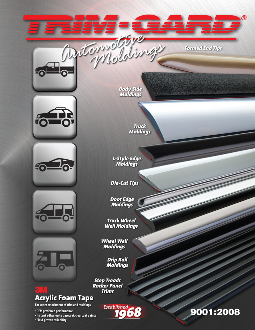 Auto Molding-Body Side Molding-Wheel Well Molding-Door Edge